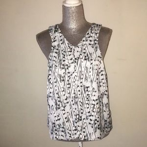 Tart tank blouse